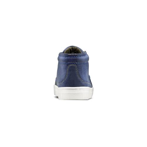 Scarpe alla caviglia da bambino mini-b, blu, 311-9279 - 16