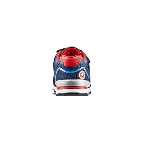 Sneakers Capitan America da bambino, blu, 311-9283 - 16