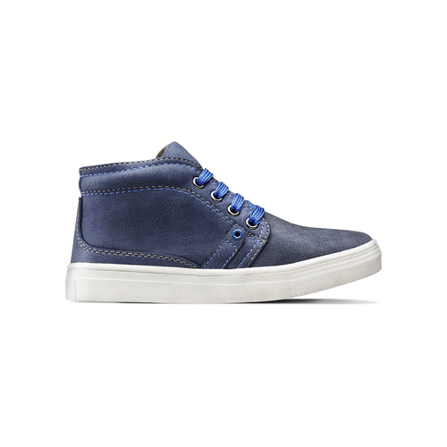Scarpe alla caviglia da bambino mini-b, blu, 311-9279 - 26