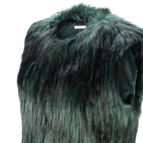 Smanicato in pelliccia bata, verde, 979-7175 - 15