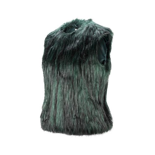 Smanicato in pelliccia bata, verde, 979-7175 - 16