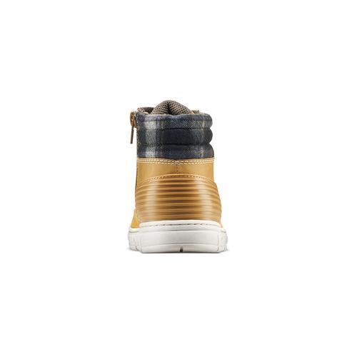 Scarponcini bimbo con zip mini-b, giallo, 391-8397 - 16