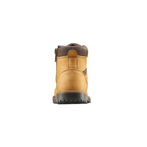 Stivaletti da bambino con lacci mini-b, giallo, 291-8168 - 16
