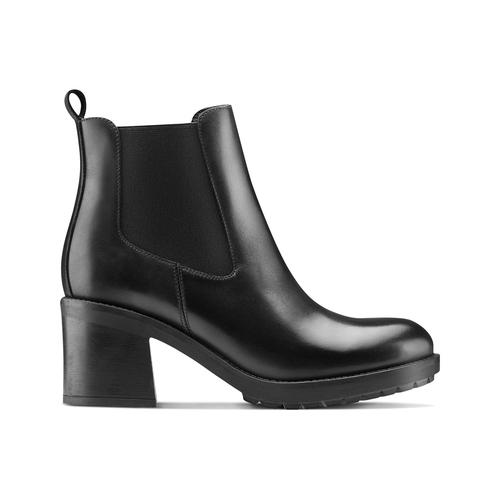 Chelsea Boots con tacco bata, nero, 794-6707 - 26