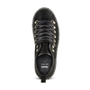 Scarponcini con lacci da donna bata, nero, 596-6245 - 15