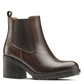 Chelsea Boots con tacco bata, marrone, 794-3707 - 13