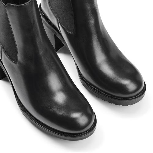 Chelsea Boots con tacco bata, nero, 794-6707 - 15