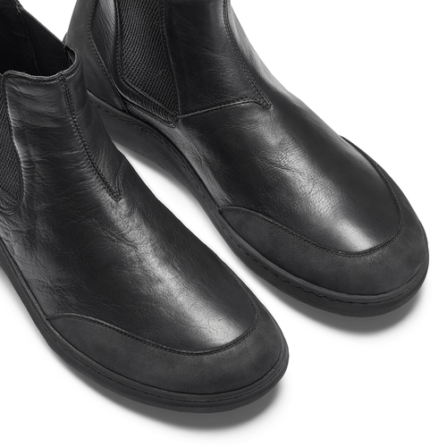 Stivaletti Comfit in pelle, nero, 894-6712 - 15