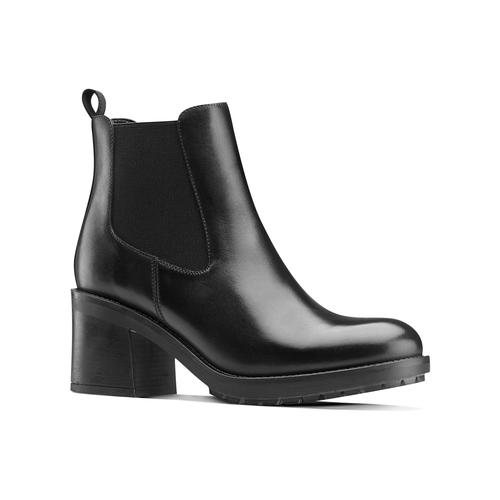 Chelsea Boots con tacco bata, nero, 794-6707 - 13
