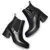 Chelsea Boots con tacco bata, nero, 794-6707 - 19
