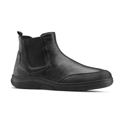 Stivaletti Comfit in pelle, nero, 894-6712 - 26