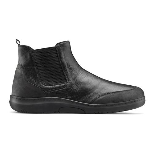 Stivaletti Comfit in pelle, nero, 894-6712 - 13