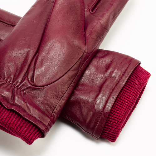 Guanti da donna bata, rosso, 904-5123 - 15