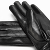 Guanti neri da donna bata, nero, 904-6123 - 16
