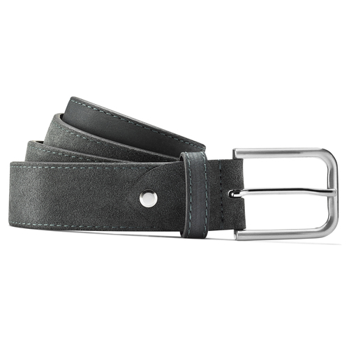 Cintura blu da uomo bata, blu, 953-9114 - 13