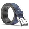Cintura da uomo in pelle scamosciata bata, blu, 953-9101 - 26