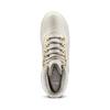 Scarponcini con lacci bata, bianco, 591-1280 - 15