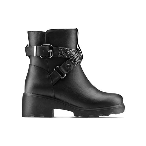 Ankle boots da bambina mini-b, nero, 391-6414 - 26