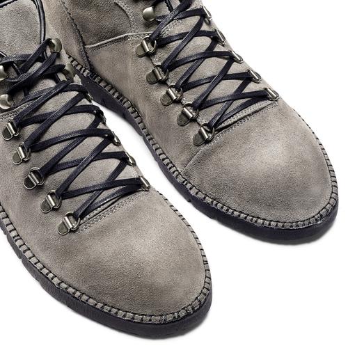 Scarponcini casual da uomo bata, grigio, 893-3148 - 15