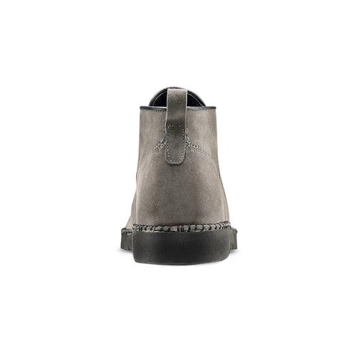 Scarponcini casual da uomo bata, grigio, 893-3148 - 16