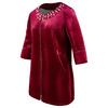 Cappotto rosso da donna bata, rosso, 979-5222 - 16