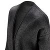 Cappotto in lana con dettaglio perle bata, nero, 979-6220 - 15