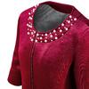 Cappotto rosso da donna bata, rosso, 979-5222 - 15