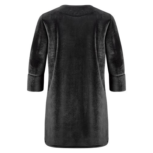 Cappotto con perle bata, nero, 979-6222 - 26