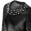 Cappotto con perle bata, nero, 979-6222 - 15