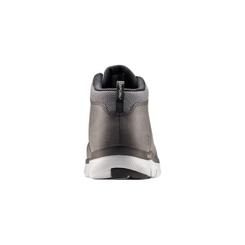Sneakers Skechers in pelle skechers, grigio, 806-2327 - 16