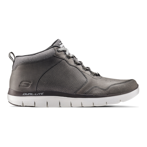 Sneakers Skechers in pelle skechers, grigio, 806-2327 - 26