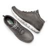 Sneakers Skechers in pelle skechers, grigio, 806-2327 - 19