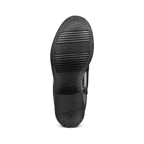 Stivali da donna bata, nero, 591-6189 - 17