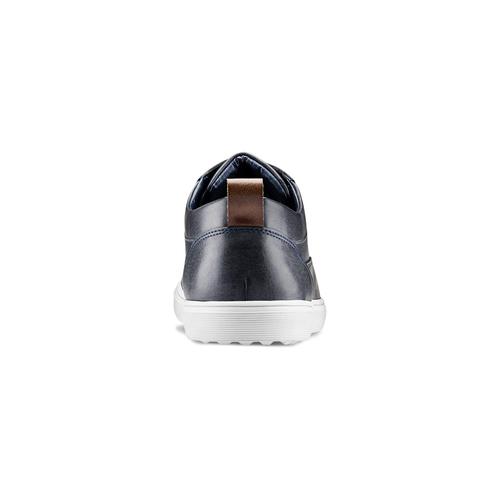 Sneakers urban da uomo bata, blu, 841-9154 - 16