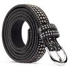 Cintura da donna con borchie bata, nero, 959-6335 - 26
