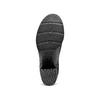 Stivaletti traforati con fibbia  bata, nero, 799-6247 - 19
