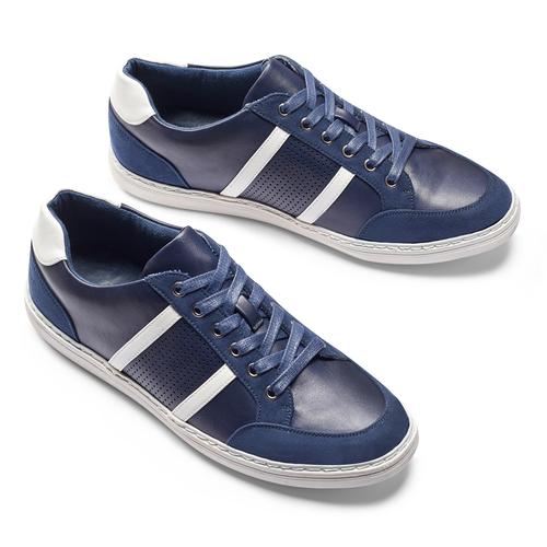 Sneakers da uomo bata, blu, 841-9141 - 19