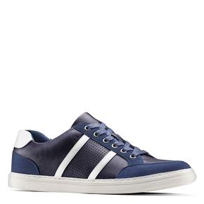 Sneakers da uomo bata, blu, 841-9141 - 13