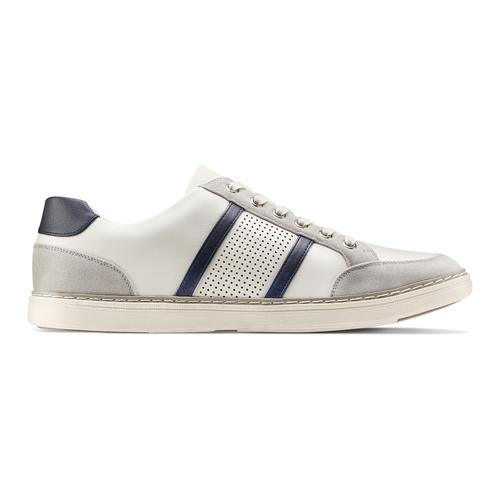 Sneakers basse da uomo bata, bianco, 841-1141 - 26