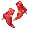 Stivaletti calzino con tacco bata, rosso, 799-5267 - 26