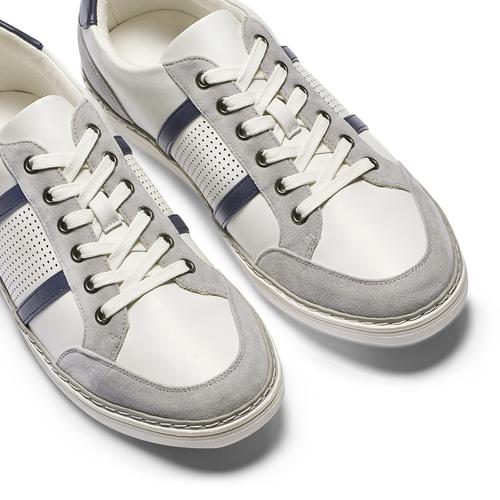 Sneakers basse da uomo bata, bianco, 841-1141 - 19