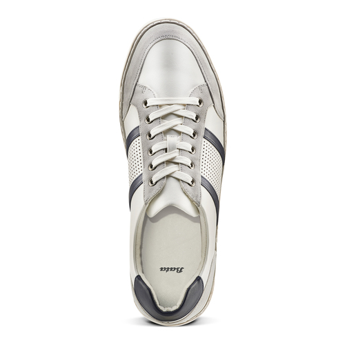 Sneakers basse da uomo bata, bianco, 841-1141 - 15