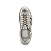 Sneakers con dettagli floreali bata, argento, 541-2166 - 17