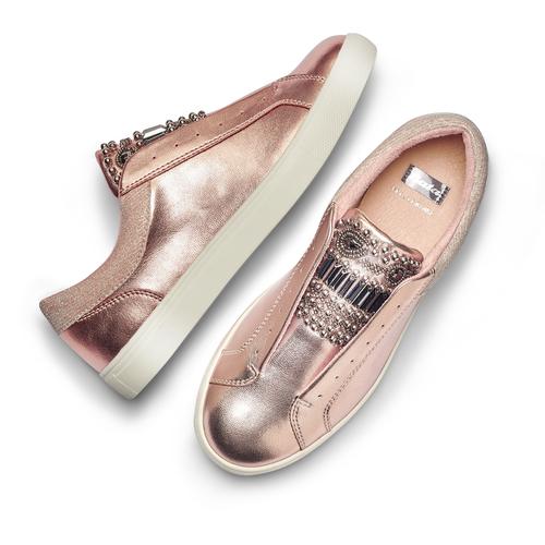 Sneakers da donna senza lacci bata, 541-5163 - 26