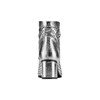 Stivaletti silver con trafori bata, argento, 694-1229 - 15