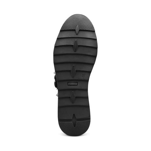 Sneakers basse senza lacci bata, grigio, 549-2165 - 19