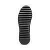 Sneakers in tessuto elasticizzato bata, nero, 549-6212 - 19