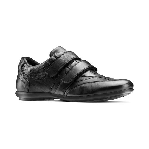 Sneakers da uomo con strappi bata, nero, 844-6140 - 13