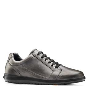 Sneakers Flexible in vera pelle flexible, marrone, 844-3709 - 13