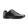 Sneakers da uomo con lacci bata, nero, 844-6141 - 13